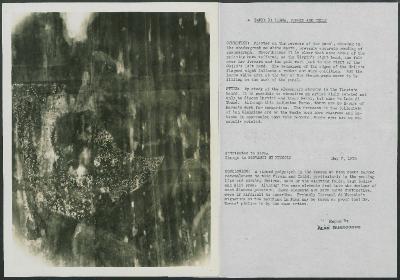 Image for K0004 - Alan Burroughs report, circa 1930s-1940s
