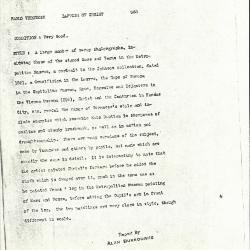 Image for K0388 - Alan Burroughs report, circa 1930s-1940s