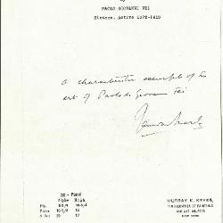 Image for K0038 - Expert opinion by Marle, circa 1920s-1930s