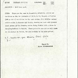 Image for K0391 - Alan Burroughs report, circa 1930s-1940s