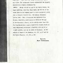 Image for K0387 - Alan Burroughs report, circa 1930s-1940s