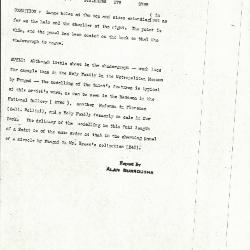 Image for K0378 - Alan Burroughs report, circa 1930s-1940s