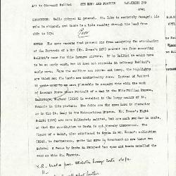 Image for K0389 - Alan Burroughs report, circa 1930s-1940s