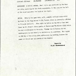Image for K0377 - Alan Burroughs report, circa 1930s-1940s