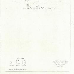 Image for K0041 - Expert opinion by Berenson, circa 1920s-1950s