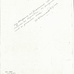 Image for K0425 - Expert opinion by Perkins, circa 1920s-1940s