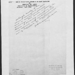 Image for K0411 - Expert opinion by Perkins, circa 1920s-1940s