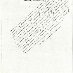 Image for K0423 - Expert opinion by Perkins, circa 1920s-1940s