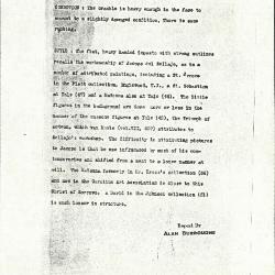 Image for K0424 - Alan Burroughs report, circa 1930s-1940s