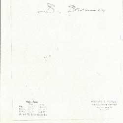 Image for K0420 - Expert opinion by Berenson, circa 1920s-1950s