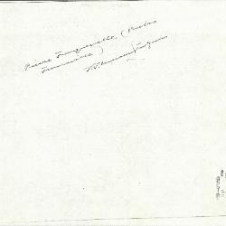 Image for K0419 - Expert opinion by Perkins, circa 1920s-1940s