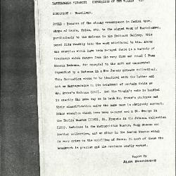 Image for K0423 - Alan Burroughs report, circa 1930s-1940s