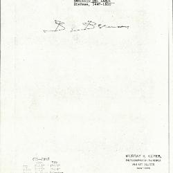 Image for K0411 - Expert opinion by Berenson, circa 1920s-1950s