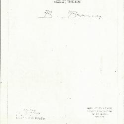 Image for K0425 - Expert opinion by Berenson, circa 1920s-1950s