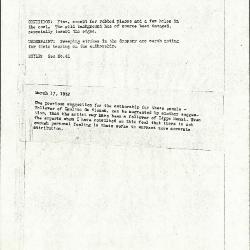Image for K0040 - Alan Burroughs report, circa 1930s-1940s
