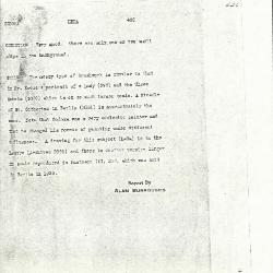 Image for K0426 - Alan Burroughs report, circa 1930s-1940s