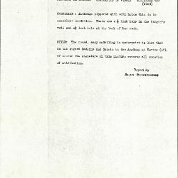 Image for K0428 - Alan Burroughs report, circa 1930s-1940s