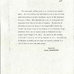 Image for K0429 - Alan Burroughs report, circa 1930s-1940s