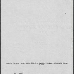 Image for K0431 - Art object record, circa 1930s-1950s