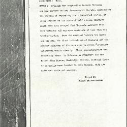 Image for K0438 - Alan Burroughs report, circa 1930s-1940s
