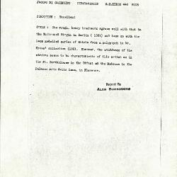 Image for K0446 - Alan Burroughs report, circa 1930s-1940s
