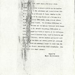 Image for K0440 - Alan Burroughs report, circa 1930s-1940s