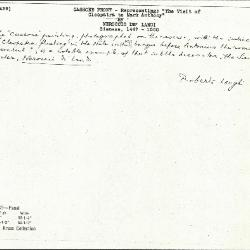 Image for K0439 - Expert opinion by Longhi, circa 1920s-1950s