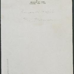 Image for K0439 - Expert opinion by Berenson, circa 1920s-1950s