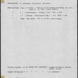 Image for K0446 - Art object record, circa 1930s-1950s