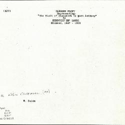 Image for K0439 - Expert opinion by Suida, circa 1920s-1950s