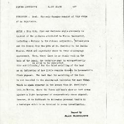 Image for K0447 - Alan Burroughs report, circa 1930s-1940s