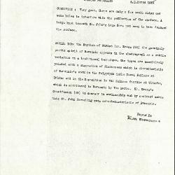 Image for K0460 - Alan Burroughs report, circa 1930s-1940s