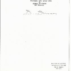 Image for K0460 - Expert opinion by Berenson, circa 1920s-1950s