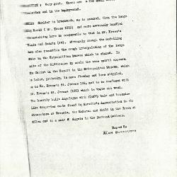 Image for K0458 - Alan Burroughs report, circa 1930s-1940s