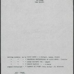 Image for K0459 - Art object record, circa 1930s-1950s