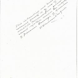 Image for K0460 - Expert opinion by Perkins, circa 1920s-1940s