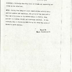 Image for K0462 - Alan Burroughs report, circa 1930s-1940s