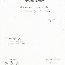 Image for K0490 - Expert opinion by Berenson, circa 1920s-1950s