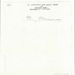 Image for K0493 - Expert opinion by Berenson, circa 1920s-1950s