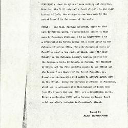 Image for K0485 - Alan Burroughs report, circa 1930s-1940s