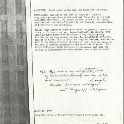 Image for K0047 - Alan Burroughs report, circa 1930s-1940s