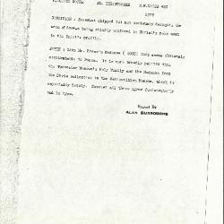 Image for K0493 - Alan Burroughs report, circa 1930s-1940s