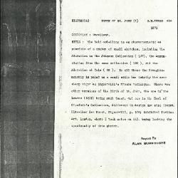 Image for K0494 - Alan Burroughs report, circa 1930s-1940s