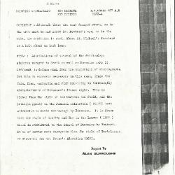 Image for K0487A - Alan Burroughs report, circa 1930s-1940s