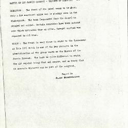 Image for K0491 - Alan Burroughs report, circa 1930s-1940s