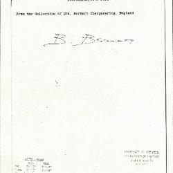 Image for K0487B - Expert opinion by Berenson, circa 1920s-1950s