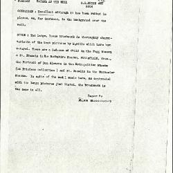 Image for K0484 - Alan Burroughs report, circa 1930s-1940s