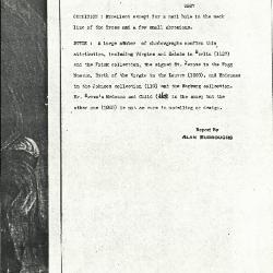 Image for K0496 - Alan Burroughs report, circa 1930s-1940s