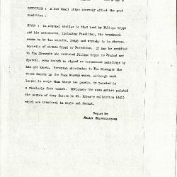 Image for K0503A - Alan Burroughs report, circa 1930s-1940s