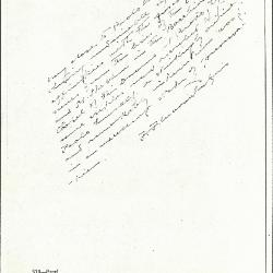 Image for K0518 - Expert opinion by Perkins, circa 1920s-1940s